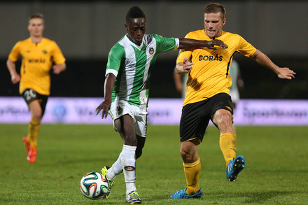 Rio Ave v Elfsborg Europa League Play-off 2014/15